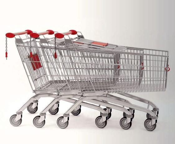 Wózki marketowe