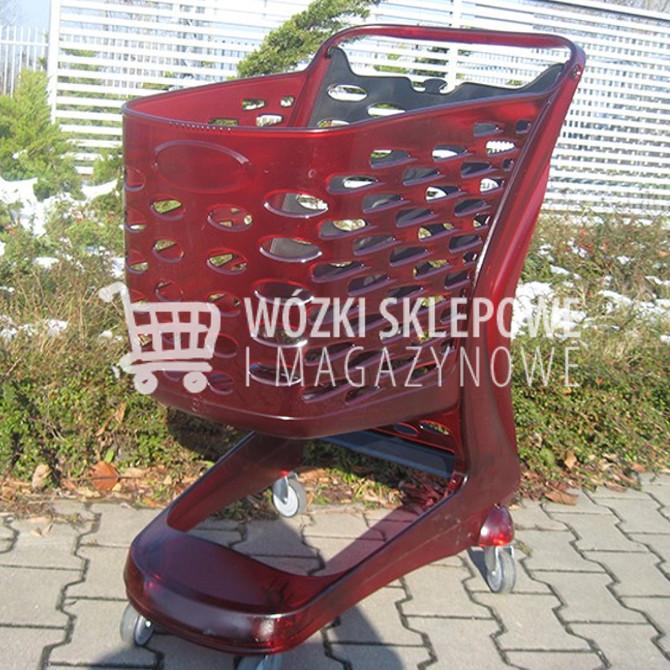 Wózki sklepowe glamour