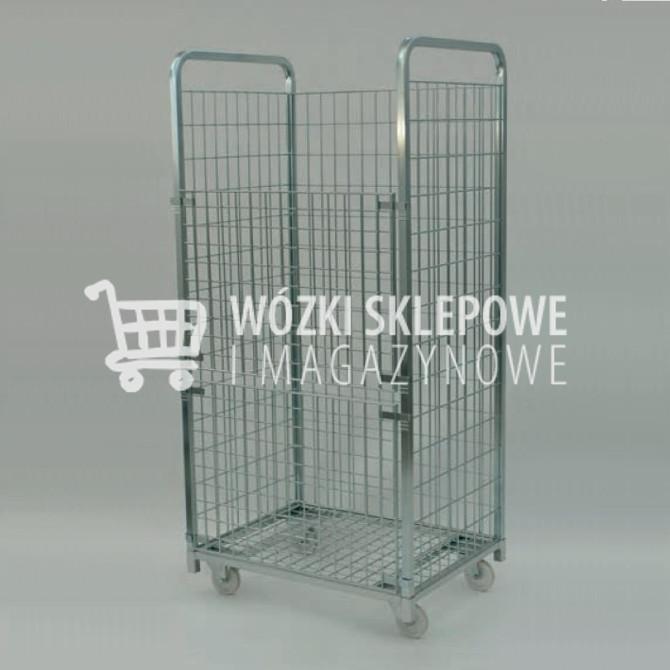 Wózki sklepowe magazynowe