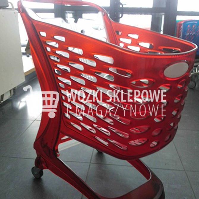 Wózek sklepowy glamour 90 litrów