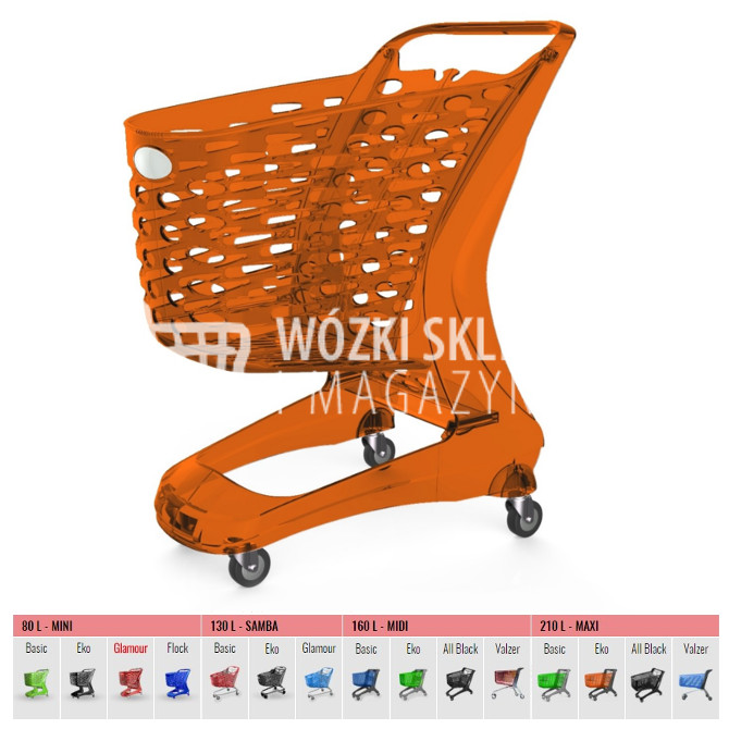 Wózki zakupowe Glamour