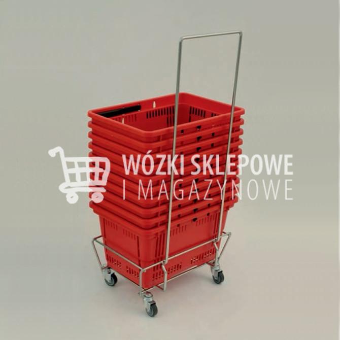 Wózki zakupowe na koszyki