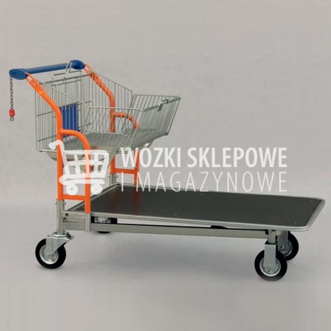Wózki sklepowe transportowe