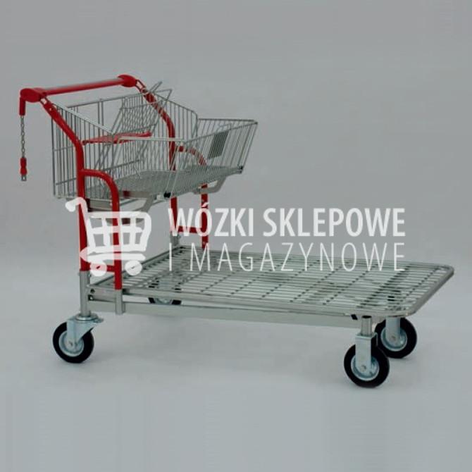Wózki transportowe druciane