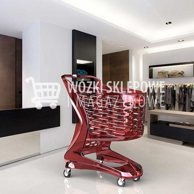 Wózki sklepowe z tworzywa sztucznego