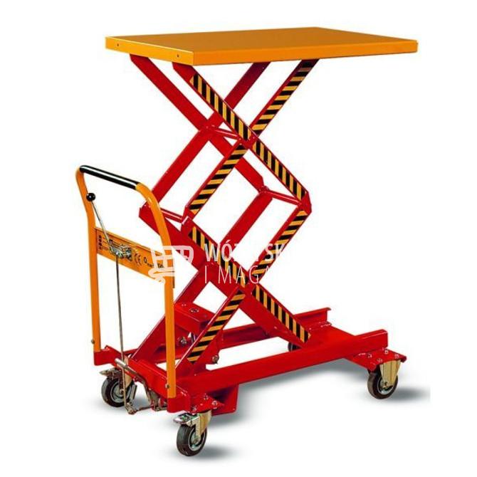 Wózki z unoszoną platformą